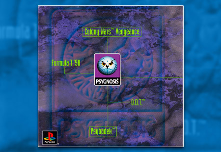 PSX PlayStation Demo Psygnosis '98 Interactive Demo