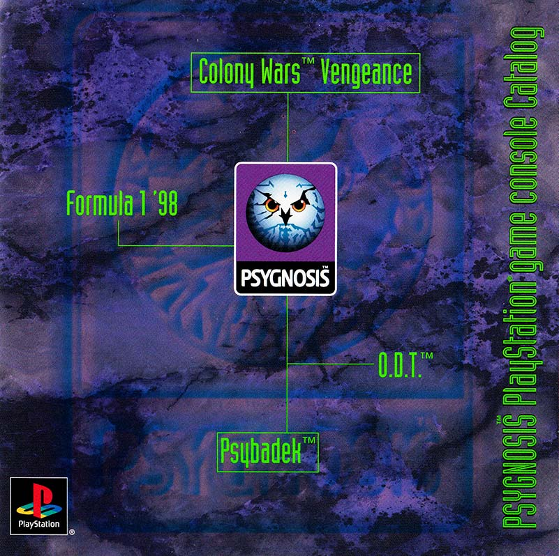 PSX Demo Psygnosis Purple Booklet Web