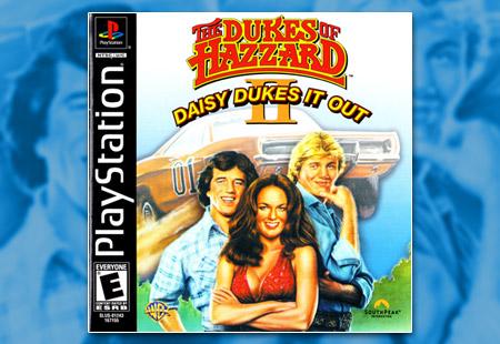 PSX PlayStation The Dukes of Hazzard II: Daisy Dukes It Out