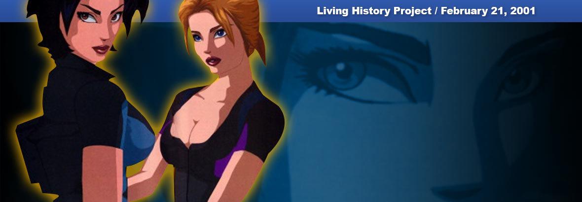 Feb. 21st, 2001 New Release – Fear Effect 2: Retro Helix