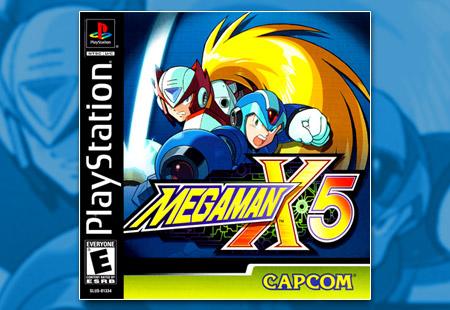 PSX PlayStation Mega Man X5