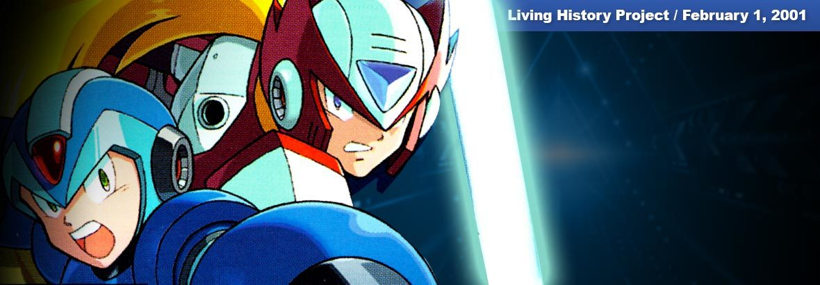 Feb. 1st, 2001 New Release: Mega Man X5