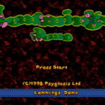PSX PlayStation Oh No! More Lemmings Screenshot