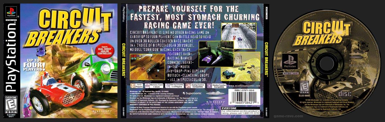 PSX PlayStation Circuit Breakers Black Label Retail Release