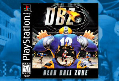 PSX PlayStation Dead Ball Zone