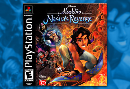 PSX PlayStation Disney's Aladdin in Nasira's Revenge
