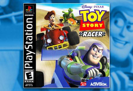 PSX PlayStation Disney / Pixar Toy Story Racer