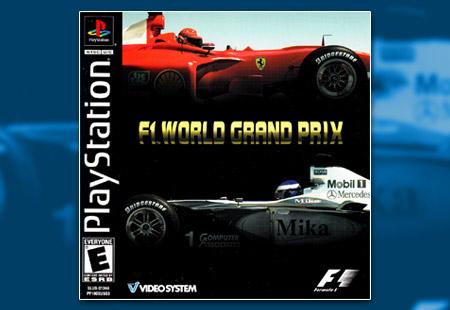 PSX PlayStation F1 World Grand Prix (2000)