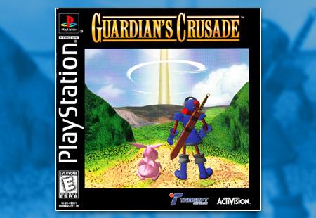 PSX PlayStation Guardian's Crusade