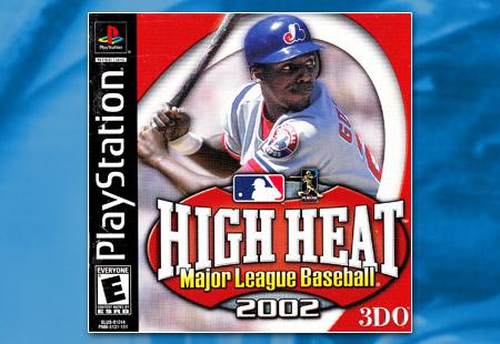 PSX PlayStation High Heat Major League Baseball 2002