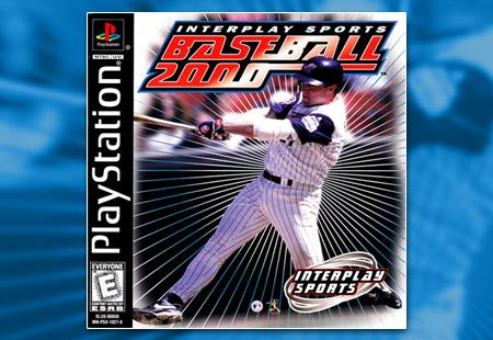 PSX PlayStation Interplay Baseball 2000