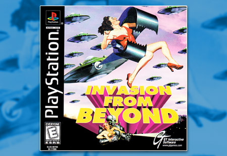 PSX PlayStation Invasion From Beyond