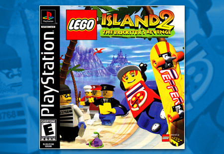 PSX PlayStation Lego Island 2 The Brickster's Revenge