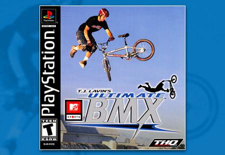 PSX PlayStation MTV Sports T.J. Lavin's Ultimate BMX