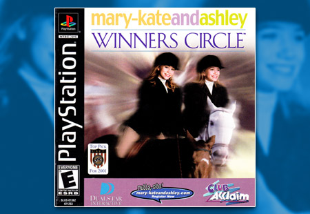 PSX PlayStation Mary-Kate and Ashley Winners Circle
