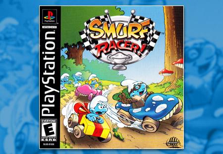 PSX Smurf Racer