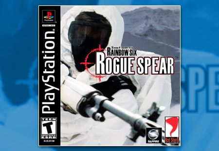 PSX PlayStation Tom Clancy's Rainbow Six Rogue Spear