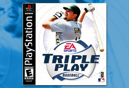 PSX PlayStation Triple Play Baseball (2001)