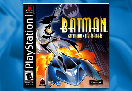 PSX Batman Gotham City Racer