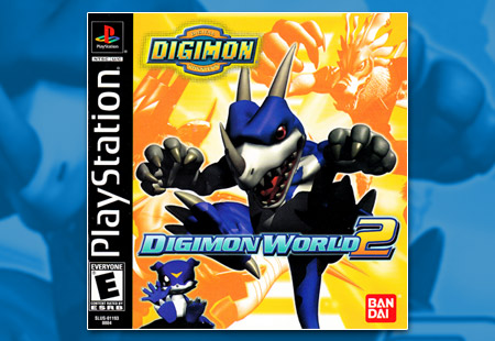 PSX PlayStation Digimon World 2