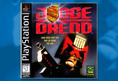 PSX PlayStation Judge Dredd