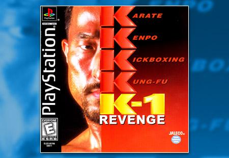 PSX PlayStation K-1 Revenge