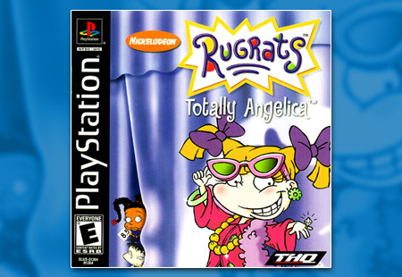 PSX PlayStation Rugrats: Totally Angelica