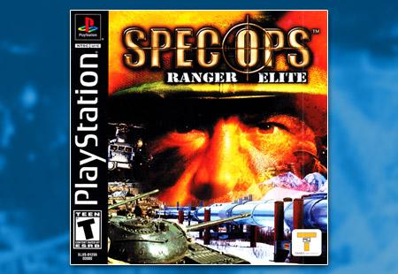 PSX PlayStation Spec Ops: Ranger Elite