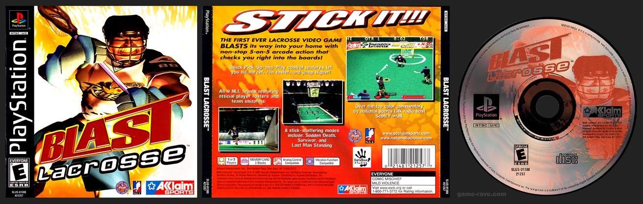 PSX PlayStation Blast Lacrosse Black Label Retail Release