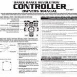 PSX Dance Dance Revolution Dance Controller Manual Sheet 1