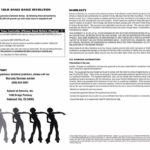 PSX Dance Dance Revolution Dance Controller Manual Sheet 2