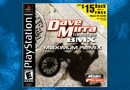 PSX PlayStation Dave Mirra Freestyle BMX Maximum Remix