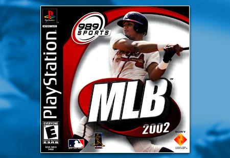 PSX PlayStation MLB 2002