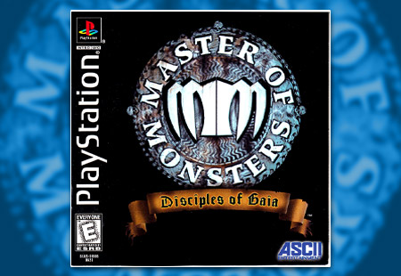 PSX PlayStation Master of Monsters: Disciples of Gaia