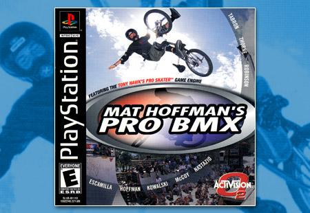 PSX PlayStation Mat Hoffman's Pro BMX