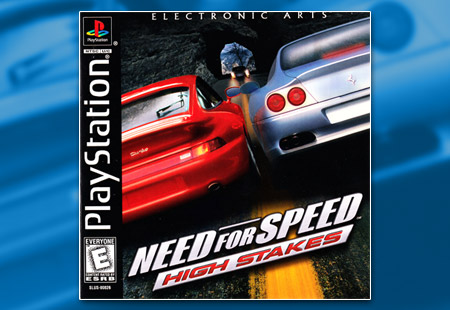 PSX PlayStation Need For Speed High Stakes