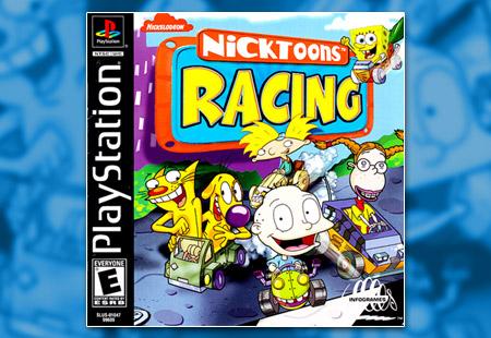 PSX PlayStation Nicktoons Racing