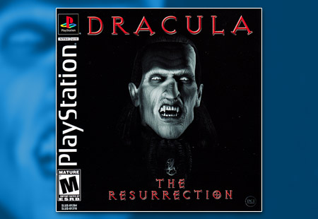 PSX PlayStation Dracula The Resurrection Black Label Retail Release