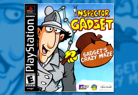 PSX PlayStation Inspector Gadget - Gadget's Crazy Maze