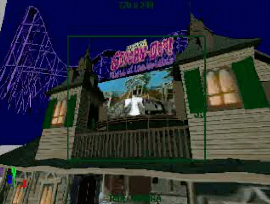 PSX PlayStation Scooby Doo Night of 100 Frights Large Screenshot