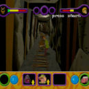 PSX PlayStation Scooby Doo Night of 100 Frights Level 1 Screenshots (10)