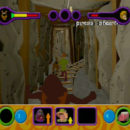 PSX PlayStation Scooby Doo Night of 100 Frights Level 1 Screenshots (11)