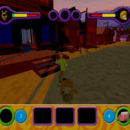 PSX PlayStation Scooby Doo Night of 100 Frights Level 1 Screenshots (12)