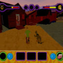 PSX PlayStation Scooby Doo Night of 100 Frights Level 1 Screenshots (16)