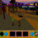 PSX PlayStation Scooby Doo Night of 100 Frights Level 1 Screenshots (17)