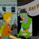 PSX PlayStation Scooby Doo Night of 100 Frights Level 1 Screenshots (18)