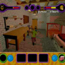 PSX PlayStation Scooby Doo Night of 100 Frights Level 1 Screenshots (22)