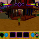 PSX PlayStation Scooby Doo Night of 100 Frights Level 1 Screenshots (3)