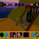 PSX PlayStation Scooby Doo Night of 100 Frights Level 1 Screenshots (8)