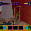 PSX PlayStation Scooby Doo Night of 100 Frights Prototype Level 3 Wolf Ends Lodge Screenshot (1)